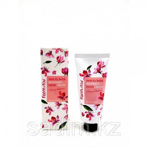 FarmStay Pink Flower Blooming Hand Cream - Крем для рук на основе экстракта цветущей сакуры