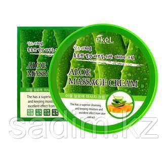 Ekel Aloe Massage Cream -  Крем для тела с экстрактом алоэ для самомассажа