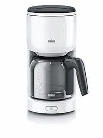 Кофеварка капельная Braun KF 3100 белый