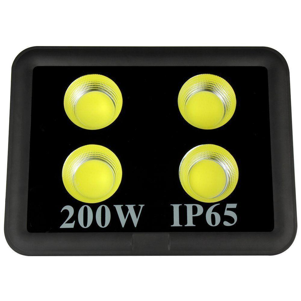 Прожектор LED ZI-COB200W,AC 85-265V,  6500K