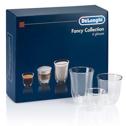 Чашки DeLonghi Fancy Collection DLSC302 (6шт.)