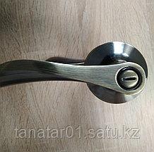 Дверная ручка  Корона 0891-03 AB с защелкой Бронза