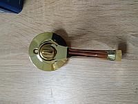 Дверная ручка  Корона 8032-03 PB с защелкой Золото