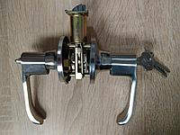 Дверная ручка Корона 8032-01 SS с защелкой Хром