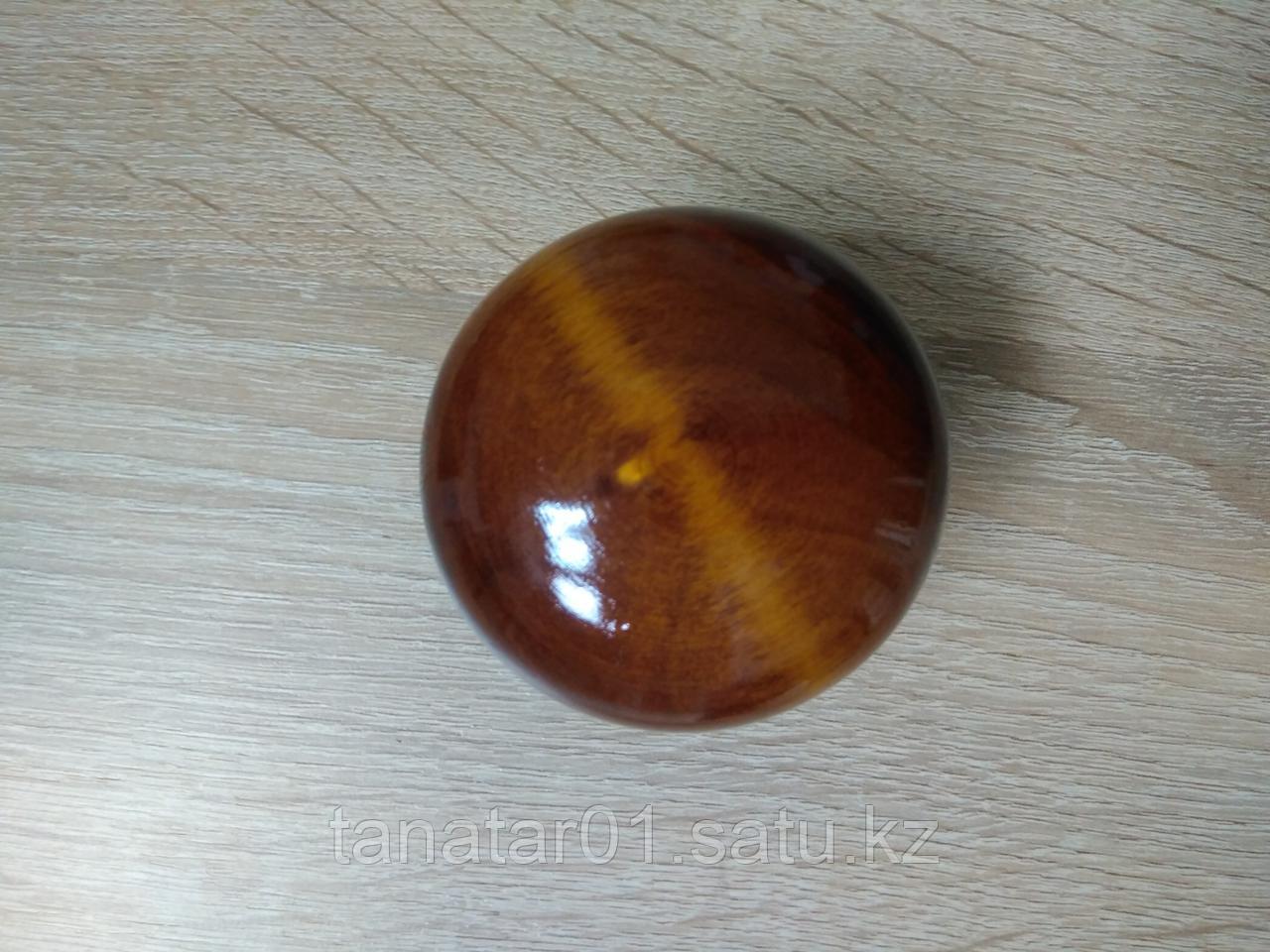 Дверная ручка  деревянная