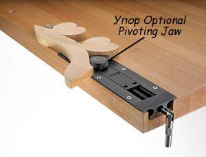 Упор Optional Pivoting Jaw для тисков Veritas Insertl Vise