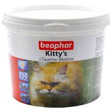 Kitty's+Taurine/Biotin 750 т - Витаминное лакомство для кошек с таурином и биотином
