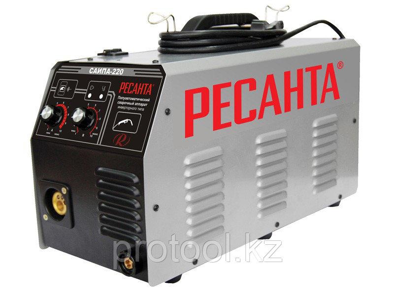 Сварочный аппарат  инверторный п/а САИПА 220 Ресанта