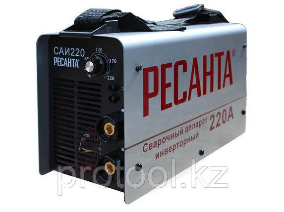 Сварочный аппарат  инверторный  САИ 220 Ресанта, фото 2