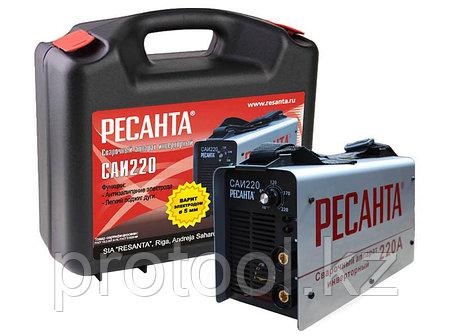 Сварочный аппарат  инверторный  САИ 220 в кейсе Ресанта, фото 2