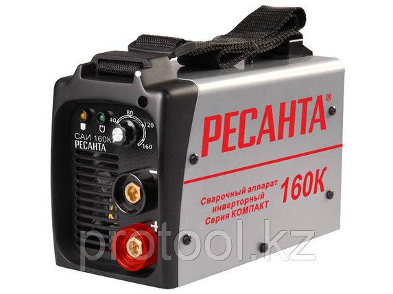 Сварочный аппарат  инверторный   САИ 160К (компакт) Ресанта, фото 2