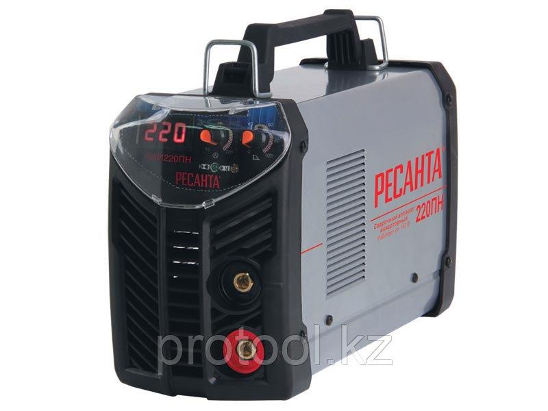 Сварочный аппарат  инверторный САИ 220 ПН Ресанта
