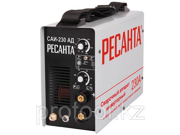 Сварочный аппарат   инверторный САИ-230-АД (аргонодуговой) Ресанта, фото 2