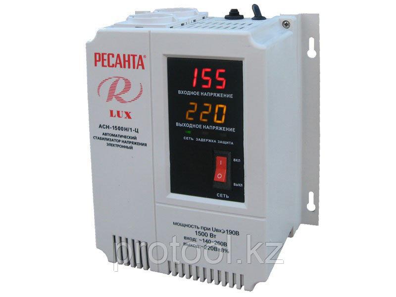 Стабилизатор Ресанта АСН-1500/1-Ц LUX