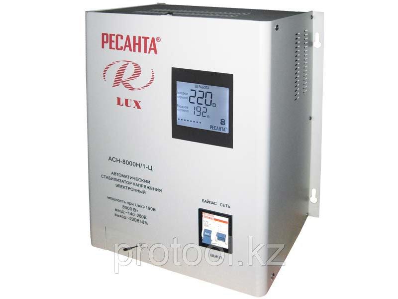 Стабилизатор Ресанта АСН 8000 Н/1-Ц LUX