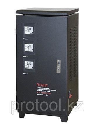 Стабилизатор АСН-15000/3-ЭМ Ресанта, фото 2