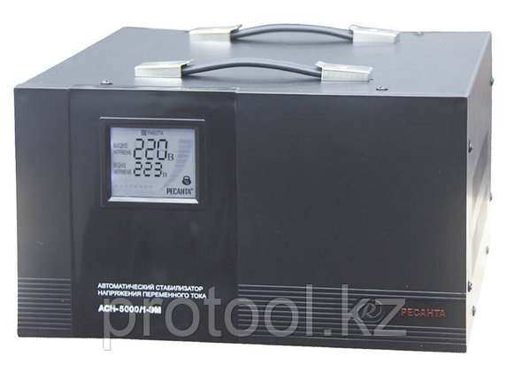 Стабилизатор АСН-5000/1-ЭМ Ресанта, фото 2