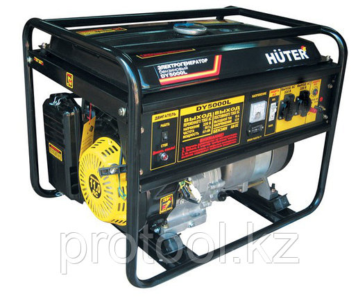 DY5000L Электрогенератор Huter, фото 2
