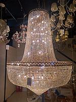 Хрустальная люстра на 70 лампочек