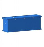 Герметичный контейнер для сбора, хранения, транспортировки на утилизацию ртутных люминесцентных ламп 1550х600х