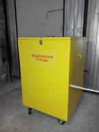 Контейнер для медицинских отходов класса В 400х400х750 толщина стенки - 2.0 мм