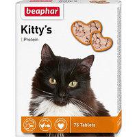 Kittys Protein 75 т Витамины с протеином для кошек