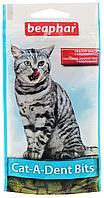 """Подушечки для чистки зубов у кошек Beaphar """"Cat-A-Dent-Bits""""/35г"""