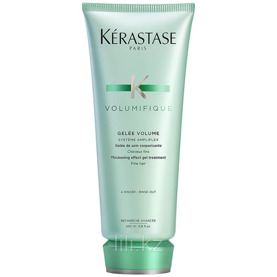 Уплотняющий желе-уход для устойчевого объема и легкости тонких волос Kerastase Resistance Volumifique 200 мл.