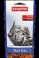 Подушечки для выведения шерсти,кошкам.Malt Bits/35г