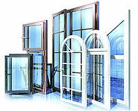 Пластиковые окна, двери, балконы коричневого и белого цвета!