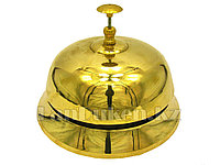 Настольный звонок на ресепшен (золотой)