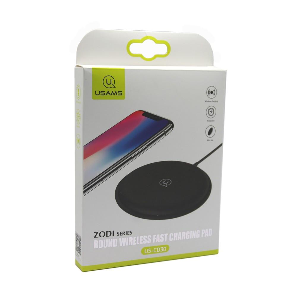 Беспроводное зарядное устройство Usams CD-30 Qi