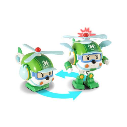 Robocar Poli Робот-трансформер - Хэли с инструментами (свет), Робокар Поли