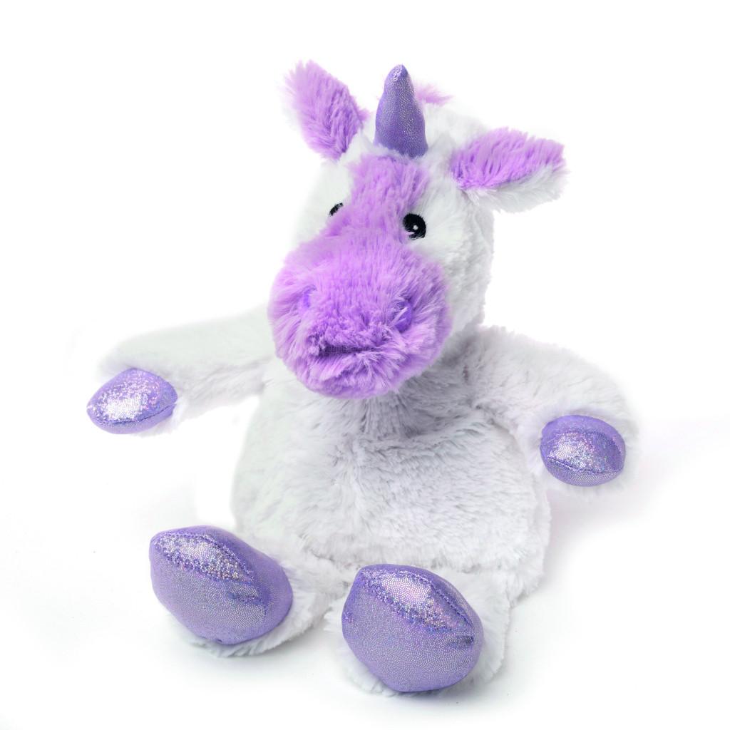 Warmies Мягкая игрушка - грелка Белый Единорог