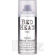 Лак для суперсильной фиксации -  Tigi Bed head hard head 100 мл.