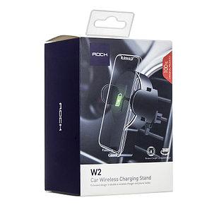 Беспроводное зарядное устройство Rock W2 Qi Автомобильный, фото 2