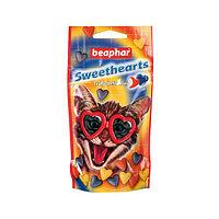 Sweet Hearts 150 т - Витаминное лакомство для кошек и котят в виде сердечек