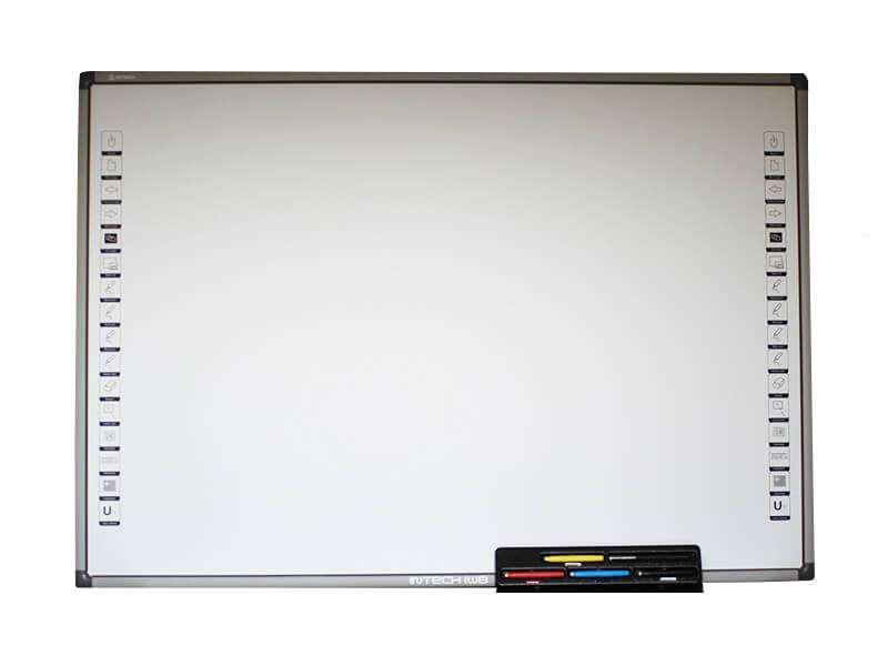 Интерактивная доска Intech SR 83D с лотком