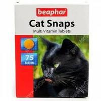 Cat Snaps 75 т – Мультивитаминное лакомство для кошек с вкусом креветок