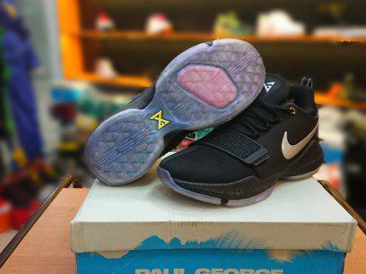 Баскетбольные кроссовки Nike PG1 from Paul George Black, фото 2