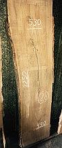 Слэб из карагача 28 (2250 х 490~530 х 65 мм)