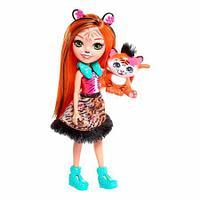 Кукла Enchantimals со зверюшкой тигренок FRH39