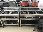 Промышленная 3 конфорочная газ плита, фото 2