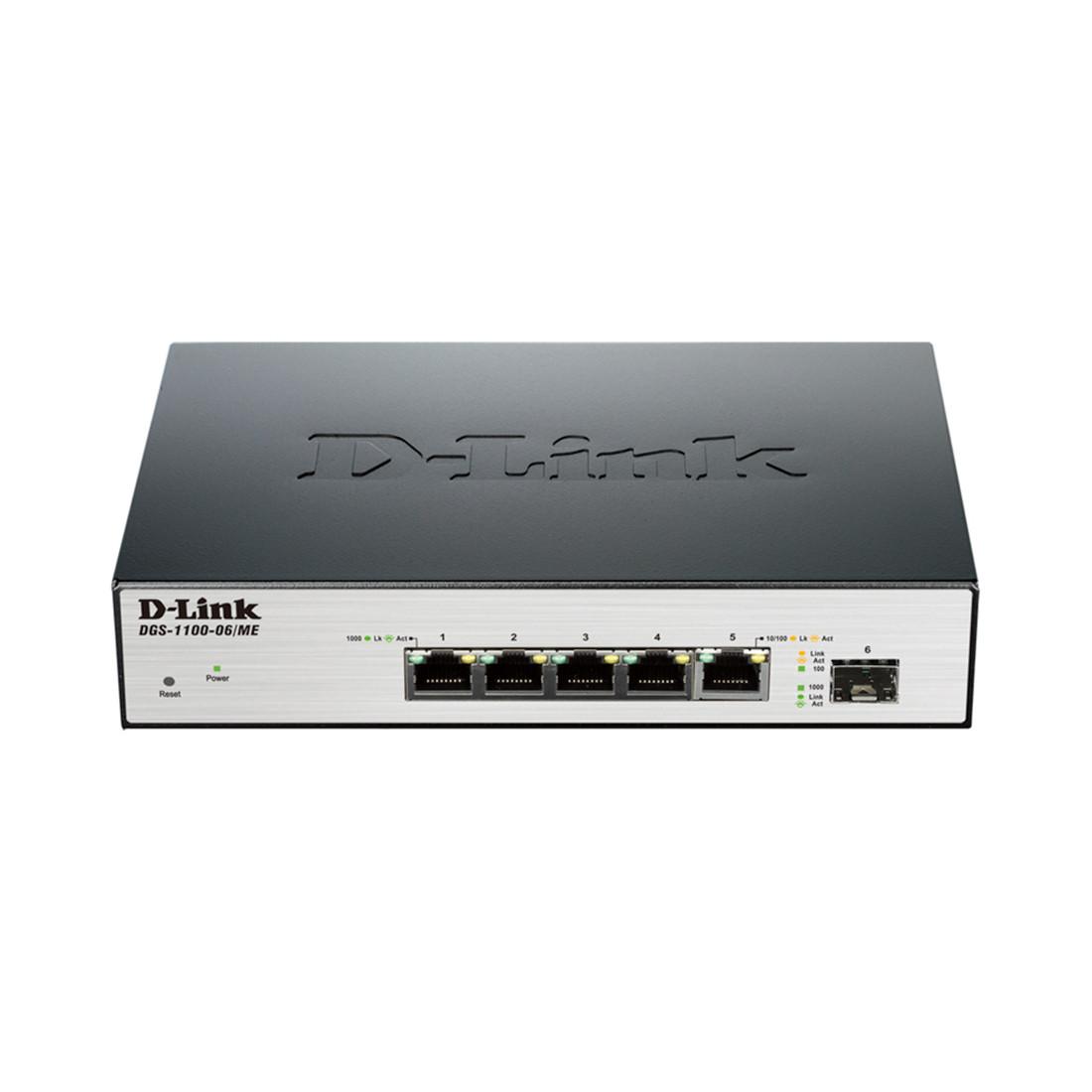 D-Link Коммутатор DGS-1100-06/ME
