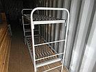 Кровать металлическая двухярусная для строителей и общежитий, фото 2