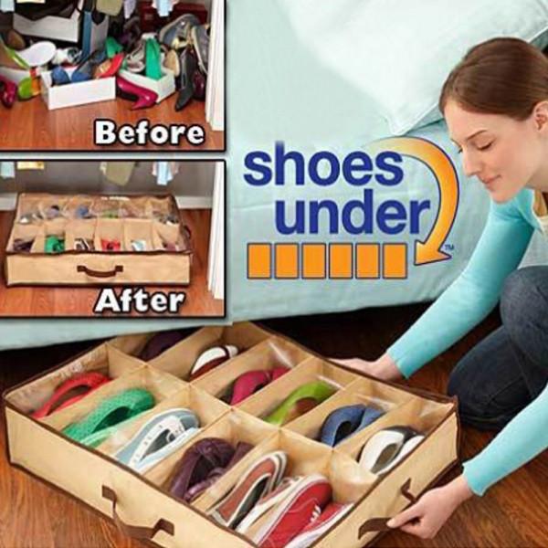 Органайзер для обуви Shoes under (на 12 пар)