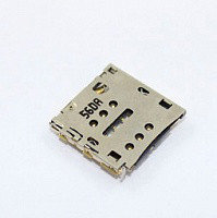 Сим коннектор  HUAWEI P6, фото 1