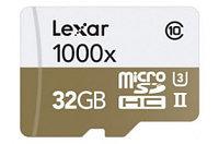 Карта памяти Lexar PROFESSIONAL MicroSD 32 GB 1000x (150 Mb/s)