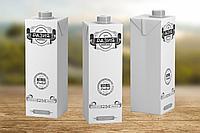 Разработка дизайна упаковки молока