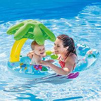 """Надувной круг для плавания """"Мама и ребенок"""", Intex 56590"""